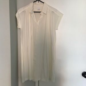 Asos Cooperative white shirt dress